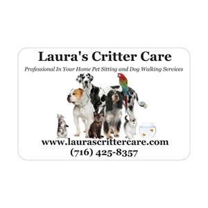 Laura's Critter Care logo