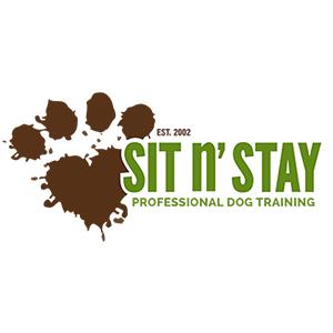 Sit N' Stay Professional Dog Training logo